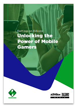 Betting on Billions Unlocking the Power of Mobile Gamers Whitepaper Cover Page